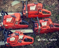 We use Husqvarna Chainsaws in our Tree & Firewood business.